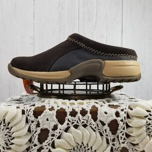 🌎Sporto Heidi suede leather clogs